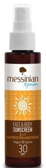 Messinian Spa Opalovací krém SPF 30 100 ml