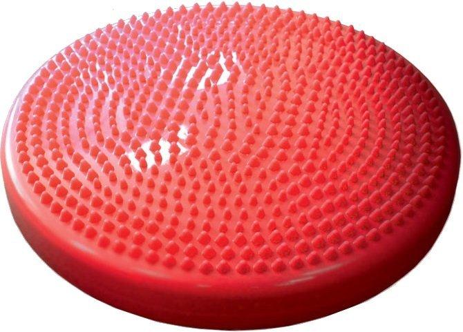 Podložka gumová čočka s výstupky červená 35 cm