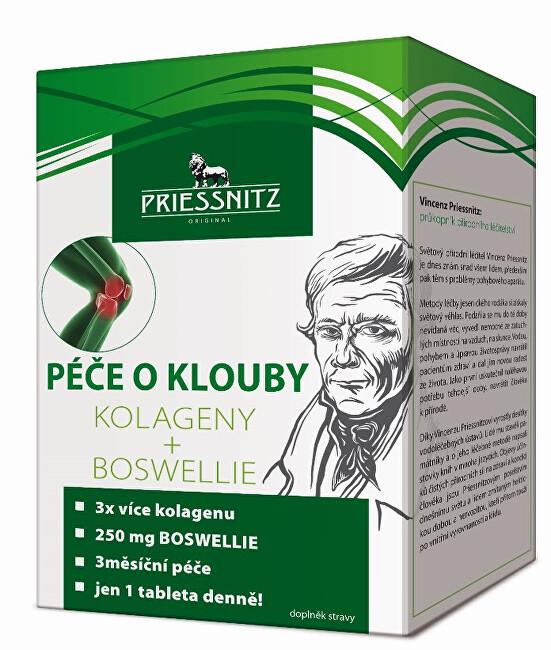 Zobrazit detail výrobku Simply You Priessnitz Kolageny + Boswellie péče o klouby 90 + 30 tbl.