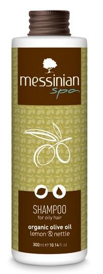 Šampón na mastné vlasy citrón & kopřiva 300 ml