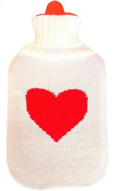 Termofor v obalu pulover Srdce