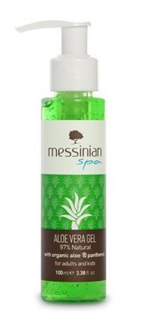 Messinian Spa Aloe vera gel s panthenolem 100 ml