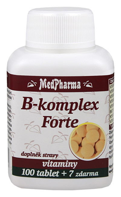B-komplex Forte 100 + 7 tablet ZDARMA