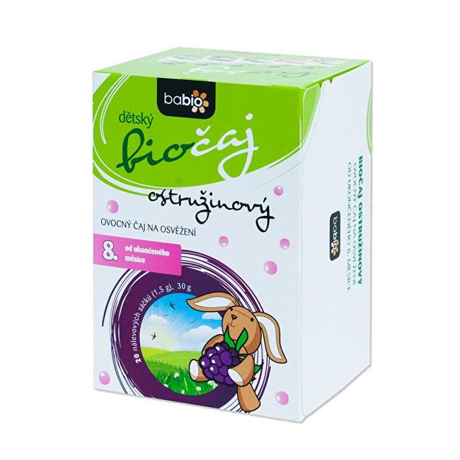 Zobrazit detail výrobku Goldim BABIO dětský biočaj ostružinový 20 sáčků