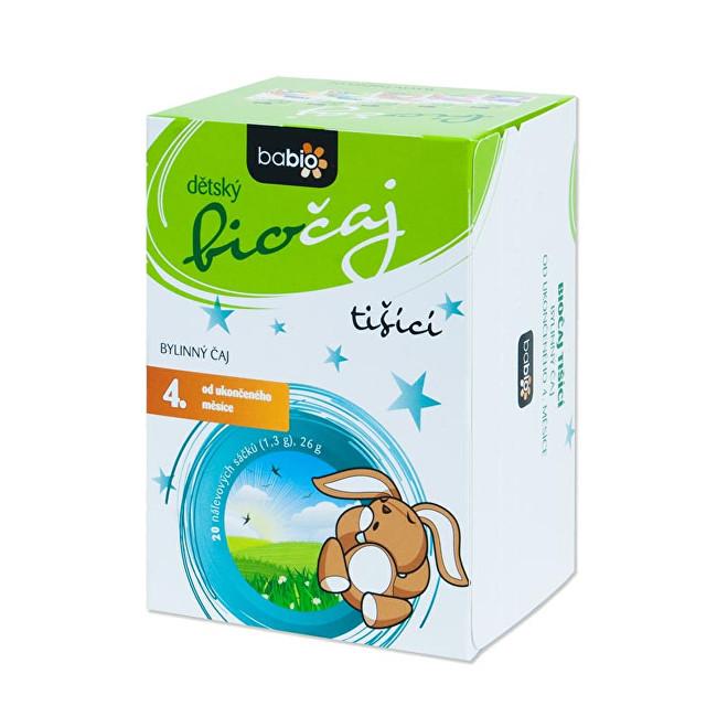 Zobrazit detail výrobku Goldim BABIO dětský biočaj tišící 20 sáčků