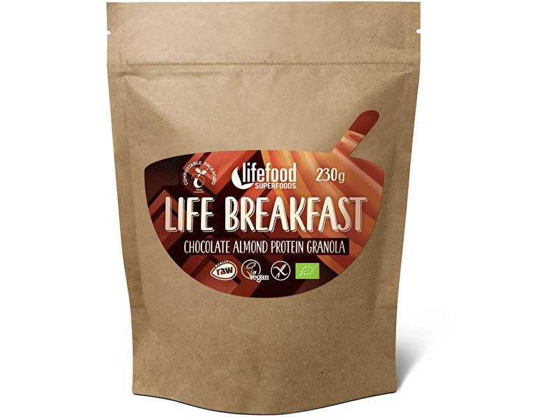 Zobrazit detail výrobku Lifefood Bio Life breakfast Granola čokoládová s mandlemi 230 g