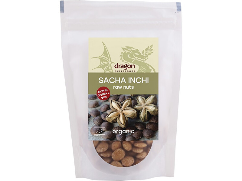 Dragon superfoods Bio ořechy Sacha Inchi 150g