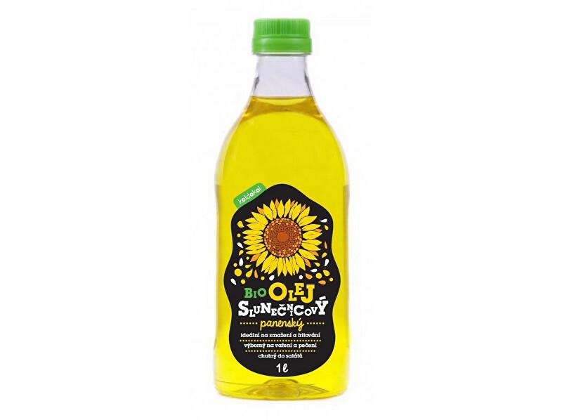 Bio slunečnicový olej panenský 1 l