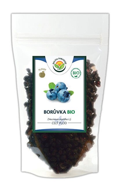 Zobrazit detail výrobku Salvia Paradise Borůvka plod BIO 200 g