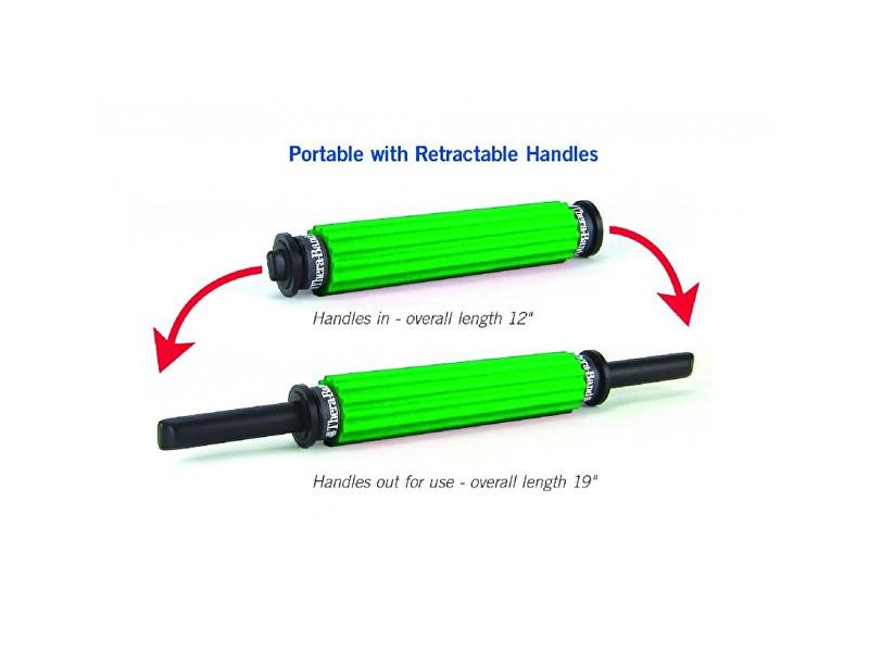 Zobrazit detail výrobku Thera-Band Cestovní masážní váleček Roller zelený