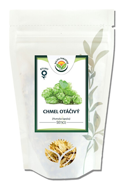 Zobrazit detail výrobku Salvia Paradise Chmel otáčivý - šištice řezané 30 g