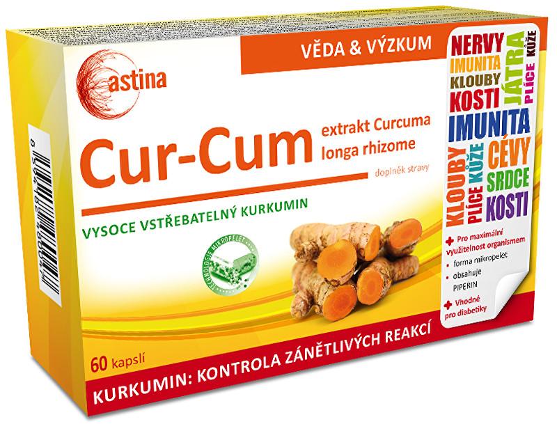Zobrazit detail výrobku Astina Cur Cum 60 kapslí