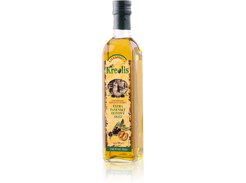 Zobrazit detail výrobku Kreolis Extra panenský olivový olej Kreolis 0,5l