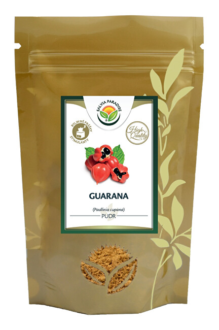 Zobrazit detail výrobku Salvia Paradise Guarana prášek HQ 150g