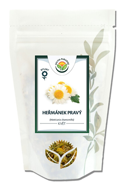 Zobrazit detail výrobku Salvia Paradise Heřmánek pravý květ 70 g