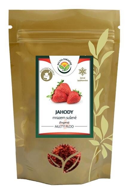 Zobrazit detail výrobku Salvia Paradise Jahody mleté mrazem sušené 50g - SLEVA - KRÁTKÁ EXPIRACE 27.9.2021