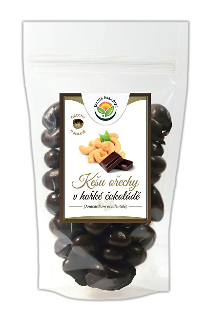 Zobrazit detail výrobku Salvia Paradise Kešu v hořké čokoládě 300 g