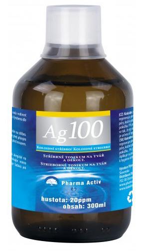 Zobrazit detail výrobku Pharma Activ Koloidní stříbro Ag 100 (20ppm) 300 ml