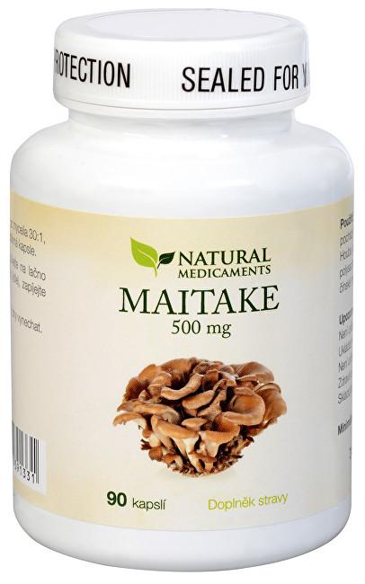 Zobrazit detail výrobku Natural Medicaments Maitake 500 mg 90 kapslí