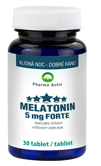 Pharma Activ Melatonin 5 mg Forte 30 tablet
