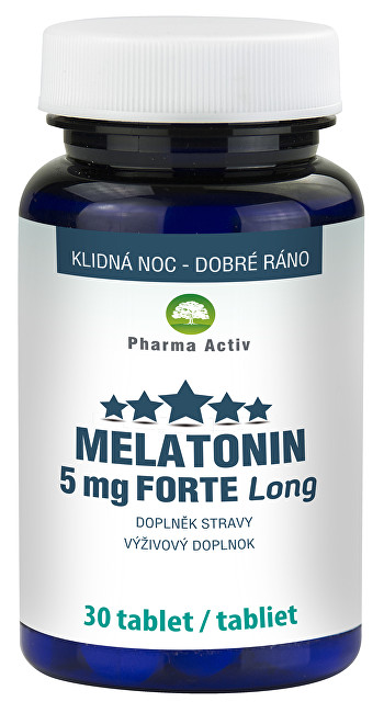 Pharma Activ Melatonin 5 mg Forte Long 30 tablet