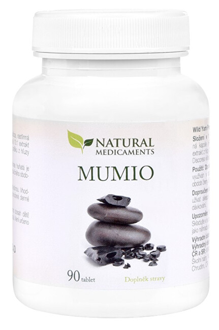 Natural Medicaments Mumio 250 mg 90 tablet