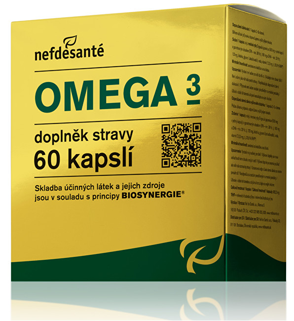 Zobrazit detail výrobku Nef de Santé Omega 3 60 kapslí