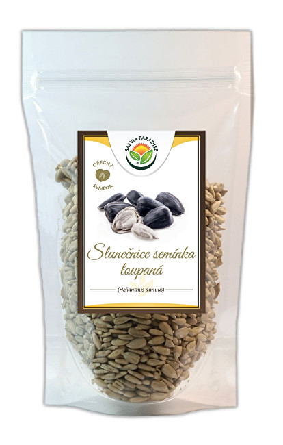 Zobrazit detail výrobku Salvia Paradise Slunečnicová semínka loupaná 300 g