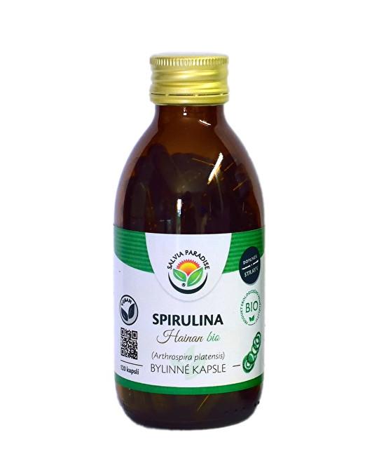 Zobrazit detail výrobku Salvia Paradise Spirulina kapsle BIO 120 ks