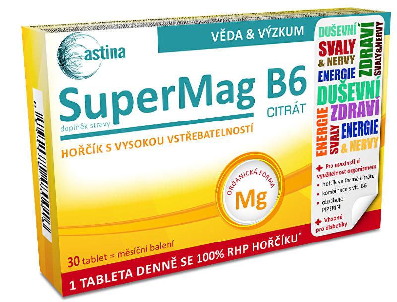 Zobrazit detail výrobku Astina SuperMag B6 30 tablet