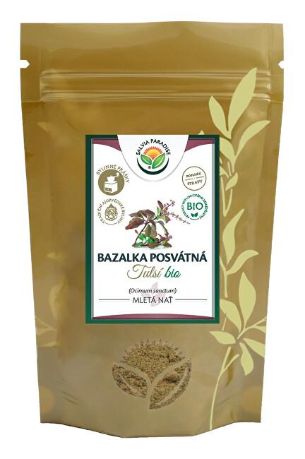 Zobrazit detail výrobku Salvia Paradise Tulsí bazalka posvátná mletá Bio 100 g