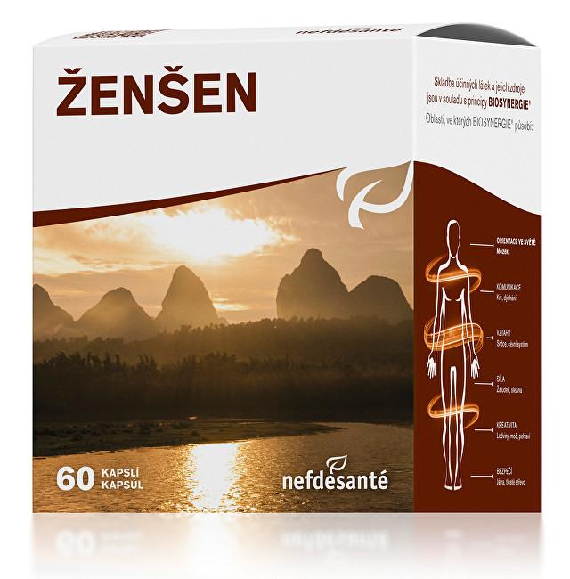 Zobrazit detail výrobku Nef de Santé Ženšen 200 mg 60 tbl.