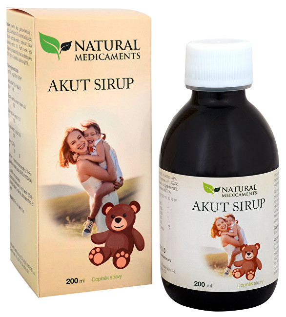 Zobrazit detail výrobku Natural Medicaments Akut sirup 200 ml
