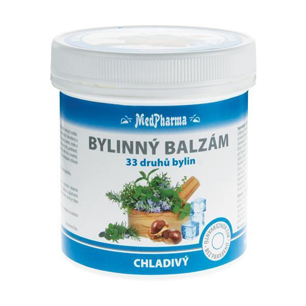 Zobrazit detail výrobku MedPharma Bylinný balzám chladivý 33 druhů bylin 250 ml
