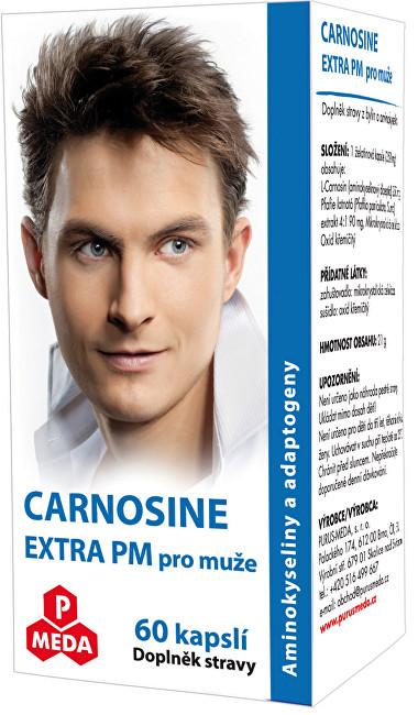 Zobrazit detail výrobku Purus Meda Carnosine Extra PM pro muže 60 kapslí