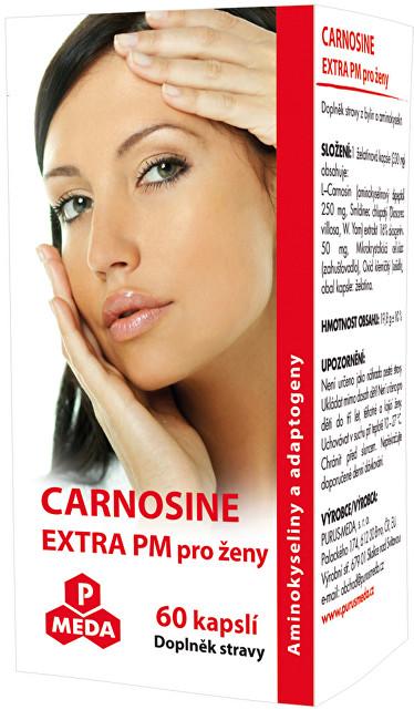 Zobrazit detail výrobku Purus Meda Carnosine Extra PM pro ženy 60 kapslí
