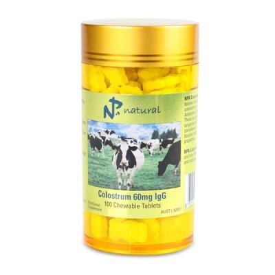 Zobrazit detail výrobku Australian Remedy Colostrum 60mg IgG 100 žvýkacích tablet