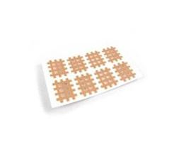 Cross Tape béžový 2,1 x 2,7 cm 180 ks