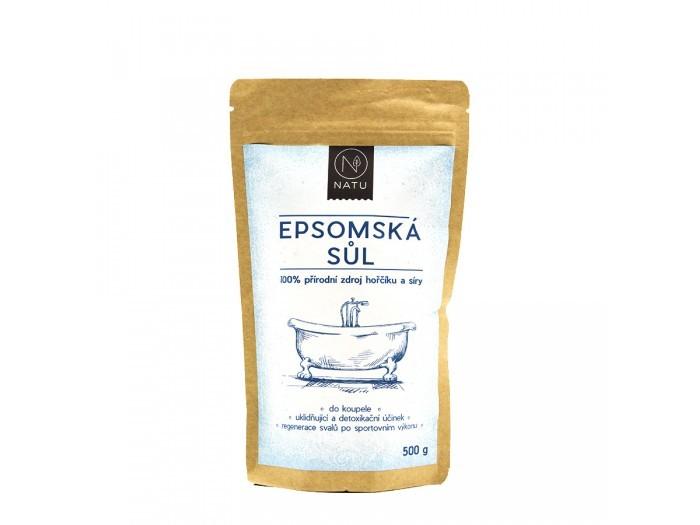 Zobrazit detail výrobku Natu Epsomská sůl 100% 500 g