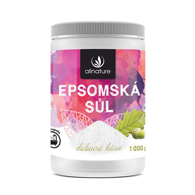 Zobrazit detail výrobku Allnature Epsomská sůl Dubová kůra 1000 g