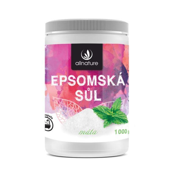 Zobrazit detail výrobku Allnature Epsomská sůl máta 1000 g