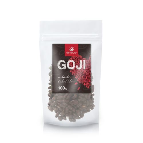 Zobrazit detail výrobku Allnature Goji v hořké čokoládě 100 g