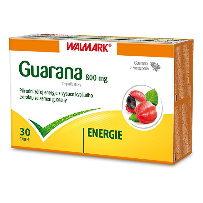 Walmark Guarana 800 mg 30 tbl.
