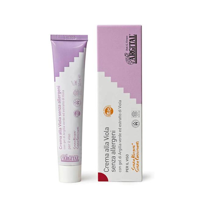 Hypoalergenní krém na obličej s violkou 50 ml