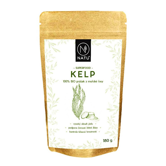 Zobrazit detail výrobku Natu Kelp BIO prášek 180 g