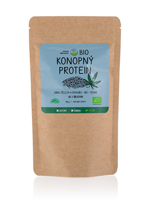 Empower Supplements Konopný protein BIO 140 g