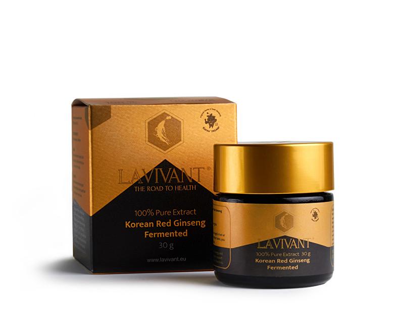Zobrazit detail výrobku Lavivant LAVIVANT gold, korejský červený 100% fermentovaný extrakt 30 g 110 mg/g