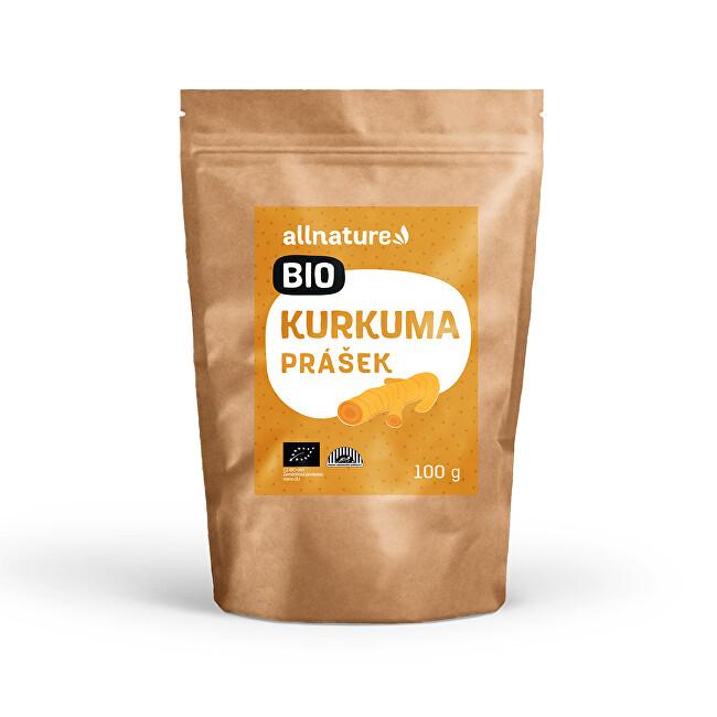 Zobrazit detail výrobku Allnature Kurkuma prášek BIO 100 g