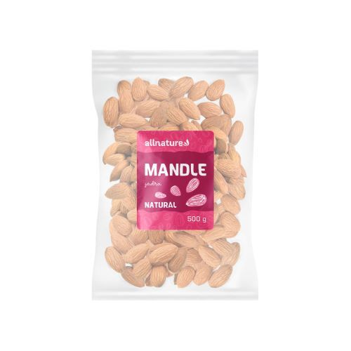 Zobrazit detail výrobku Allnature Mandle jádra 500 g