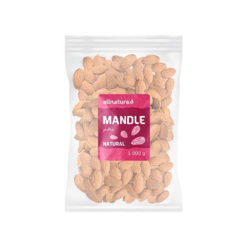 Zobrazit detail výrobku Allnature Mandle jádra 1000 g